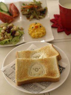 Kawaii breakfast