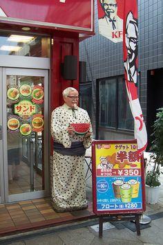 Col. Sanders-san