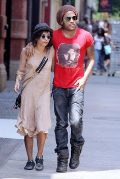 Zoe Kravitz Lenny Kravitz. I know it's weird I have a crush on these two, but I do.