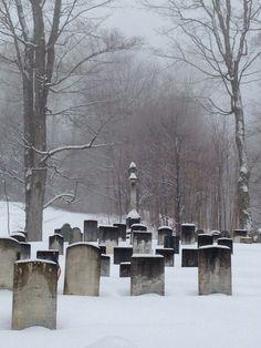 Dunbar Hill cemetery in Grantham, NH