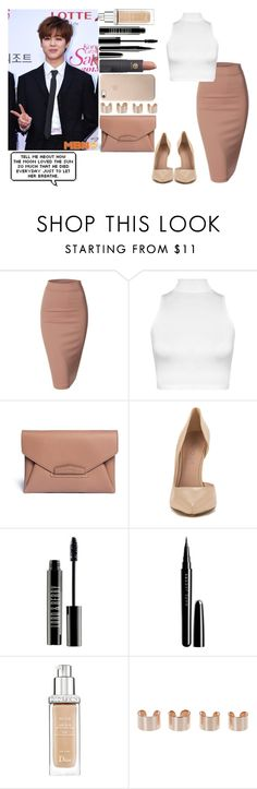 """""""Award Show W/ Jimin xxx"""" by elena-peggy ❤ liked on Polyvore featuring Doublju, WearAll, Givenchy, ALDO, Lord & Berry, Marc, Christian Dior, Maison Margiela and Lipstick Queen"""