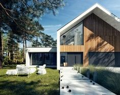 Dom E1 - zdjęcie od KAZA INTERIOR DESIGN