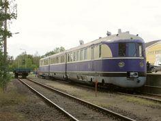 SVT 137 234 in Wurzen, zum Tag der Sachsen schön versteckt ausgestellt.
