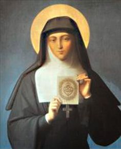 October 16.  St. Margaret Mary Alacoque