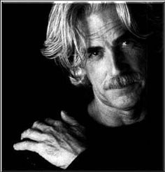 Sam Elliot, his one of my faves.. Love his accent and quite cute for an old guy.