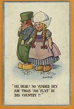 Early Donald McGILL Dutch Boy & Girl - Faults