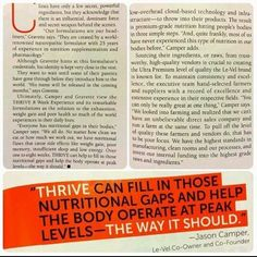 Read a bit of this article and let me know when you're ready for your body to operate at peak levels.  https://huntinmommy.le-vel.com