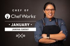 Chef Works is the leading manufacturer of chef uniforms and chef wear programs within the food service and hospitality industries around the globe. Rick Bayless, San Diego Restaurants, Chef Work, Uniform Design, Michelin Star, I Feel Pretty, Successful Women, My Heritage, Something To Do