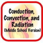 This SMART notebook presentation teaches the 3 forms of heat transfer- conduction, convection, and radiation. It begins by discussing the differenc. Thermal Energy, 6th Grade Science, Sixth Grade, Physical Science, Science Lessons, Teacher Stuff, Heat Transfer, Teaching Ideas, Middle School