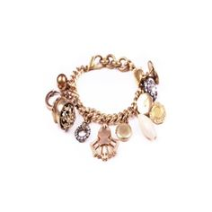 one-of-a-kind bracelet made to order with vintage Victorian charms, Lulu Frost