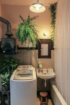 plantas + cortina