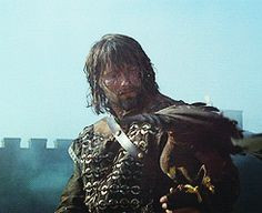 Mads Mikkelsen in King Arthur King Arthur Movie 2004, King And Country, Beltane, Fantasy Movies, Classic Literature, Mads Mikkelsen, Anubis, Movie Characters, Perfect Man