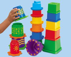 $24.99 Lakeshore Stack & Nest Sensory Toys (16 pieces)