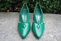 Vintage Emerald Green Art Deco/ Gatsby Style by GoodSoulVintageMI,