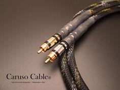 *EX DEMO* CARUSO CABLE® Royal Opera : Coppia Cavi segnale: Platinum.S RHO/AIR-17