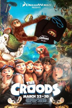 Win a Prize Pack from THE CROODS! Repin, click & enter!
