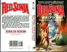 Red Sonja COVER PROOF ART Boris Vallejo! Star of Doom Production Piece Conan 6 | eBay