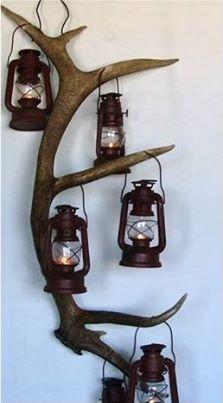 Elk Shed lanterns