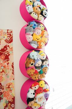 DIY Tsum Tsum Storage • via The Pink Samurai