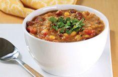 Southwest Bean & Corn Soup