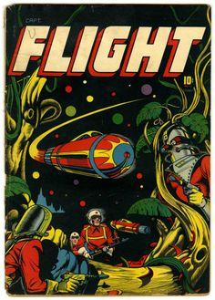 L.B. Cole | Captain Flight #11 | Four Star | 1947