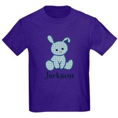 CafePress Babys First Easter Custom Name Body Suit, Size: Kids XLarge, Purple