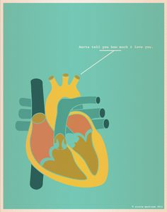 Aorta tell you how much I love you.
