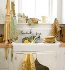 Vintage Stlye Utility area - create the look by investing in a Belfast style sink.