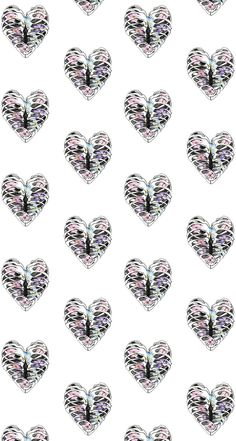 Heart Pattern ★ Find more epic #iPhone + #Android #Wallpapers and #Backgrounds at @prettywallpaper