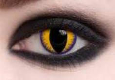 yellow cat eye contact
