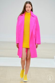 Fashion Week London Spring/Summer 2019 look 38 from the Jasper Conran collection womenswear Pink Fashion, Colorful Fashion, Fashion Looks, Womens Fashion, Cheap Fashion, Affordable Fashion, Spring Summer, Spring Fashion Trends, Summer Outfits Women