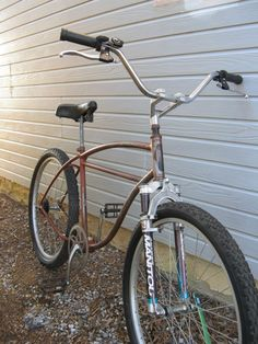 bicicleta con horquilla de todo terreno
