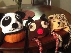 Panda, Reno y Leon.