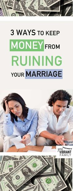 In marriage money issues are one of the biggest conflicts! Heres how to keep money from ruining your marriage. might surprise you great marriage advice here from the experts! Funny Marriage Advice, Biblical Marriage, Strong Marriage, Marriage Relationship, Marriage Tips, Marriage Infidelity, Unhappy Marriage, Broken Marriage, Saving Your Marriage