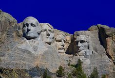 Mount Rushmore by Jim Purcell American landmarks #USA #America #Americana places to visit