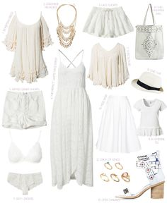 White Spring Musthaves