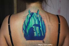totoro tattoo by NikaSamarina.deviantart.com on @deviantART