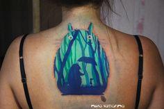 totoro tattoo by NikaSamarina.deviantart.com on @deviantART