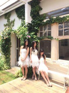 Nao Furuhata x Kei Jonishi x Haruka Komiyama  https://twitter.com/jonishi3/status/613520278543446016