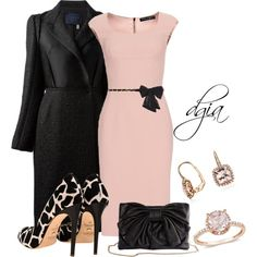 Pink jewels, created by dgia on Polyvore