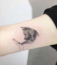 Hunde-Tattoos - Eine echte künstlerische Handschrift, es muss gesagt werden ...