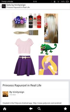 Modern Day Rapunzel Outfit