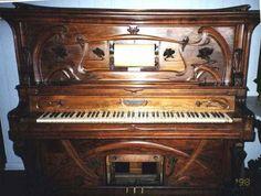 Art nouveau is frozen music... to misquote Frank Lloyd Wright