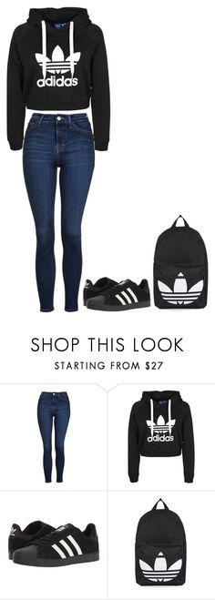 """Not branded"" by ifrancesconi on Polyvore featuring Topshop and adidas"