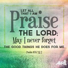 Psalm 103:2