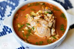 Ciorba de pui a la grec - CAIETUL CU RETETE Thai Red Curry, Ethnic Recipes, Honey, Food