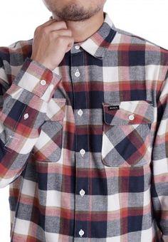 RVCA - Telltale Red Ochre - Shirt - Official Streetwear Online Shop…