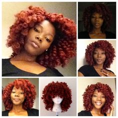 HOW TO: MAKE A MARLEY BRAID CROCHET WIG...I HAVE to do this. I ABSOLUTELY LOVE this style and the fact that its a wig, so convenient!!!