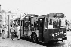 Trolleybus, you can find it only in three towns in Poland, Lublin, Poland