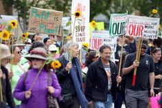 Big protest at Chevron Richmond refinery is latest example of climate activists stepping up rallies and marches - San Jose Mercury News
